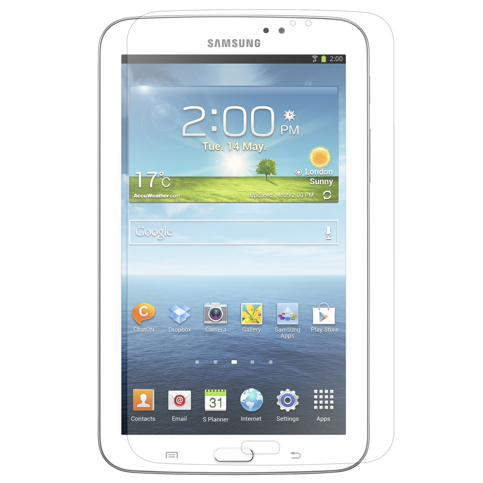 """FrenchChimp New Screen Protector/LCD Film/Guard For Samsung Galaxy Tab 3 8.0"""" T3100 8.0"""" at Sears.com"""