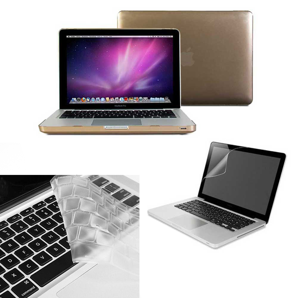 Rubberized-Hard-Case-Keyboard-Cover-Screen-Protector-For-Macbook-Pro-13-A1278
