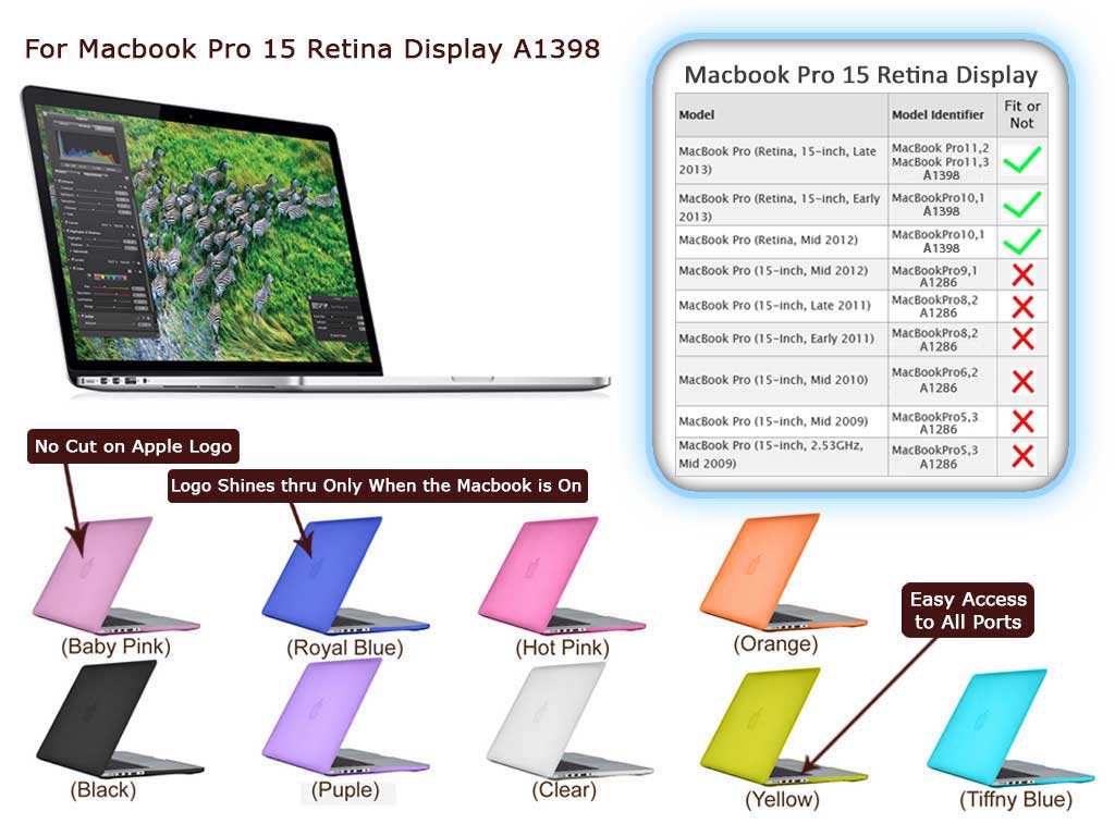 Macbook Pro 15 Retina Display A1398