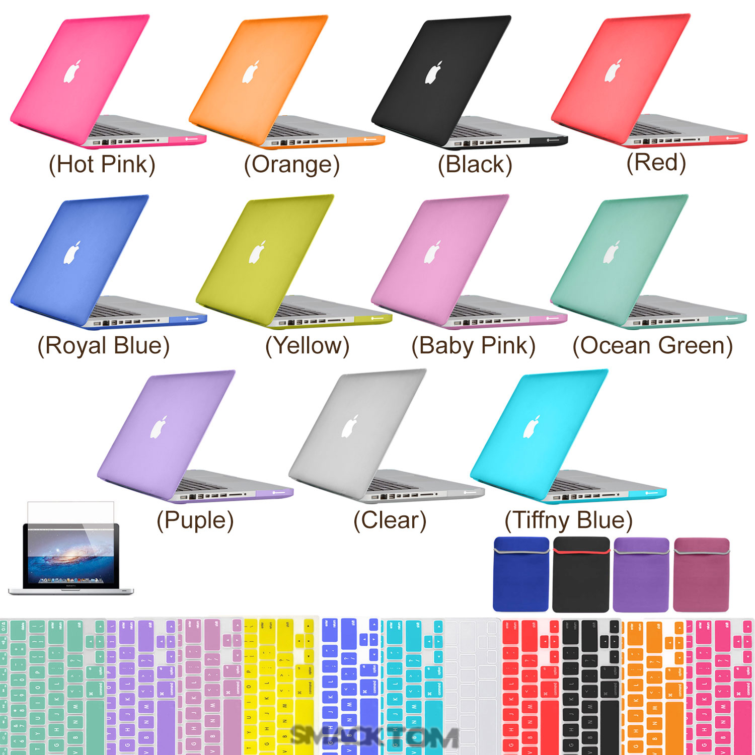 Rubberized-hard-Cover-Crystal-case-for-Macbook-PRO-13-15-Retina-AIR-11-13