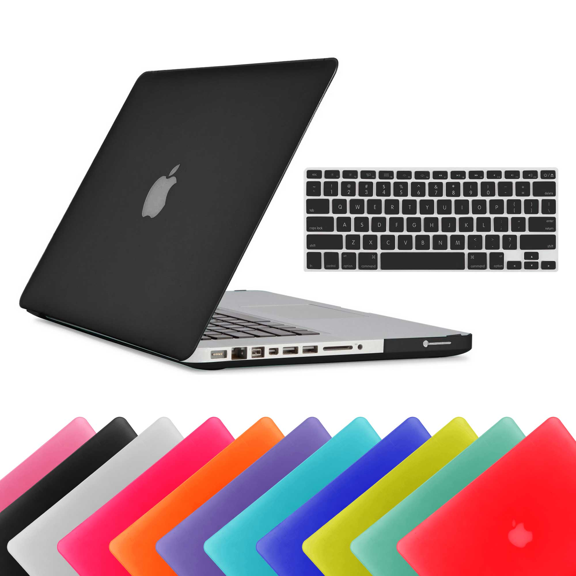 Hard-Rubberized-Matte-Case-Keybord-Skin-Cover-For-Apple-Macbook-Pro-13-13-Inch