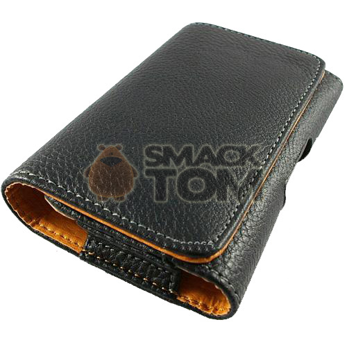 leather cell phone pouch belt clip for motorola droid
